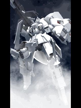 宇宙に咲く純白の花を冠した機体。強化人間が搭乗する目的で造られた高出力機体であり、その純白の機体色が特徴的である。武装にファンネルや高出力のビームランチャーが搭載されており当時としては最先端の機体であったがコストなどの問題で実際に建造されたのは僅かである。