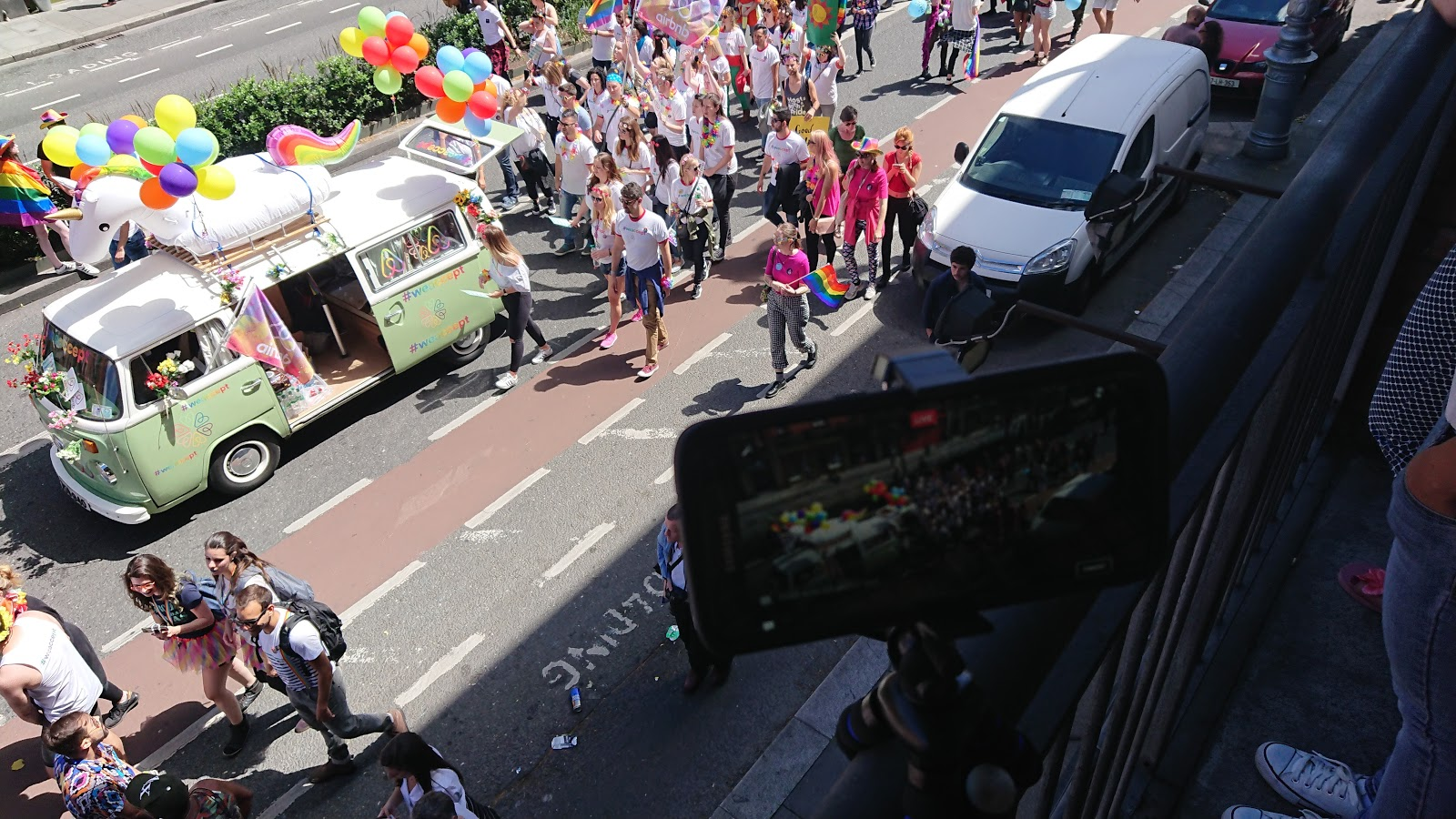AirBnB in Dublin Pride 2017
