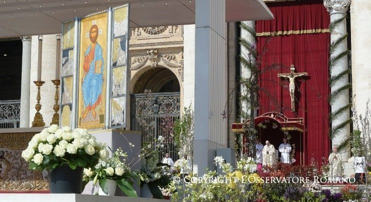 Bài giảng ứng khẩu của Đức Thánh Cha trong Lễ Chúa nhật Phục sinh (toàn văn)