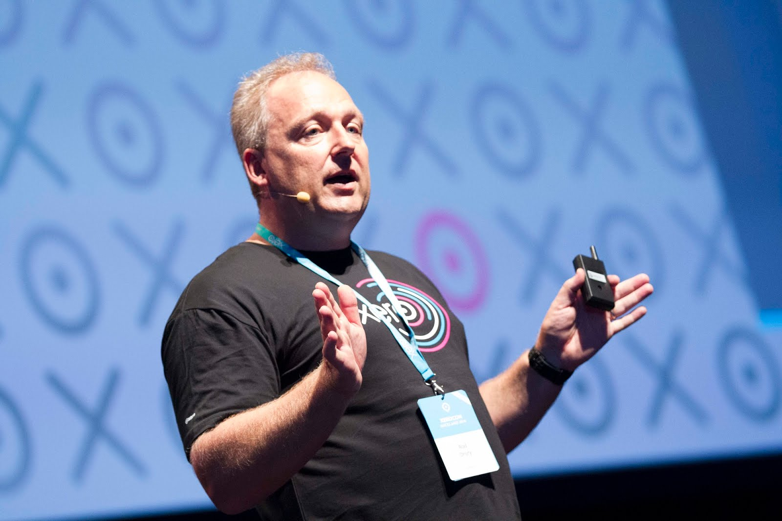 Rod Drury at Xerocon New Zealand 2014