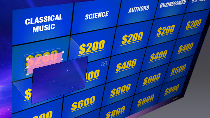 Applying Triggers to the Jeopardy Game