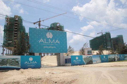 Tiến độ xây dựng và hoàn thiện của khu nghỉ dưỡng Alma nha trang