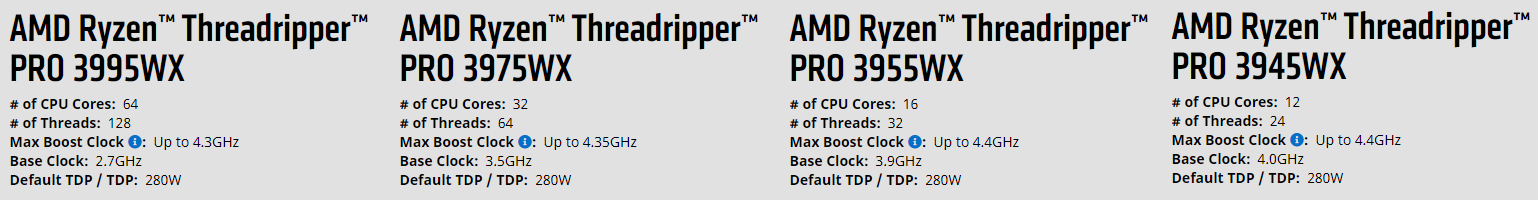 New Monster Cpu Is Coming To Town Amd Threadripper Pro Wx Series Up To 64 Cores