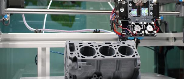 protótipo sendo realizado com impressão 3D