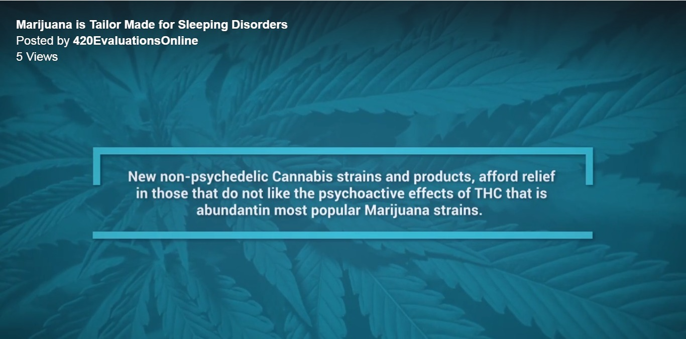 Different kinds of marijuana - non-psychoactive and psychoactive