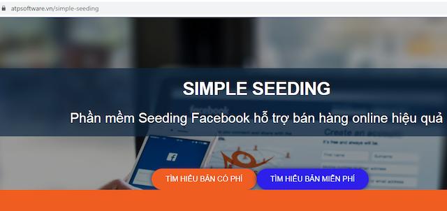 Phần mềm Simple Seeding tích hợp tính năng tăng like ảnh, cảm xúc…