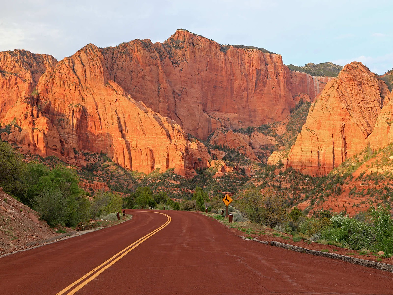 Scenic Drive at Zion Park Scenic Byway