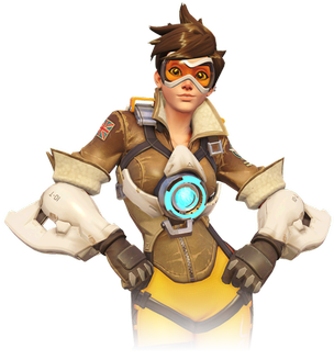 Tracer, Overwatch's most recognizable character