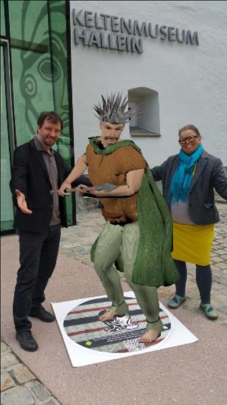 Augmented Celt in Hallein, Austria