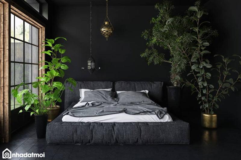 Đưa thiên nhiên vào phòng ngủ là một thiết kế vô cùng tuyệt vời