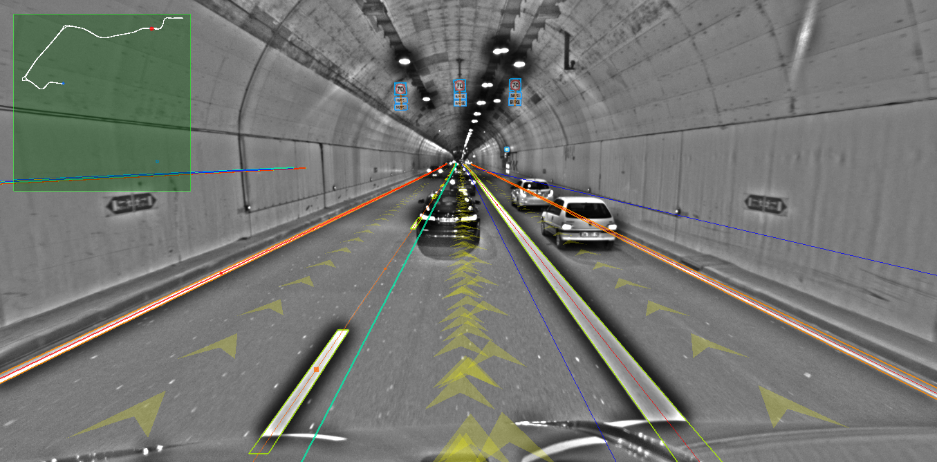 atlatec mapping in a tunnel