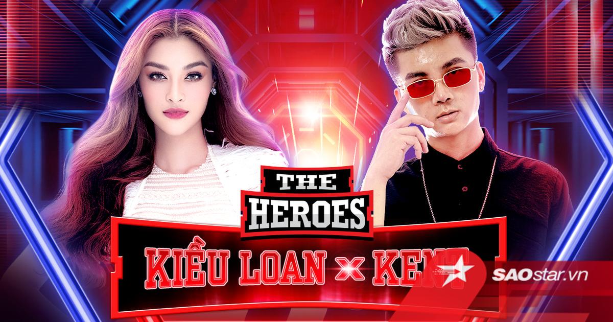 Lona trở lại oanh tạc sàn đấu The Heroes cùng producer Kent Trần