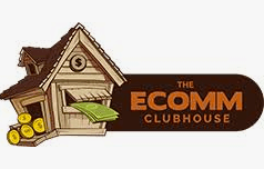 logo on white background for the ecomm clubhouse dropshipping course