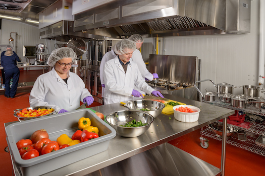 Small-Scale Food Processing Made Easy in a Commercial Kitchen