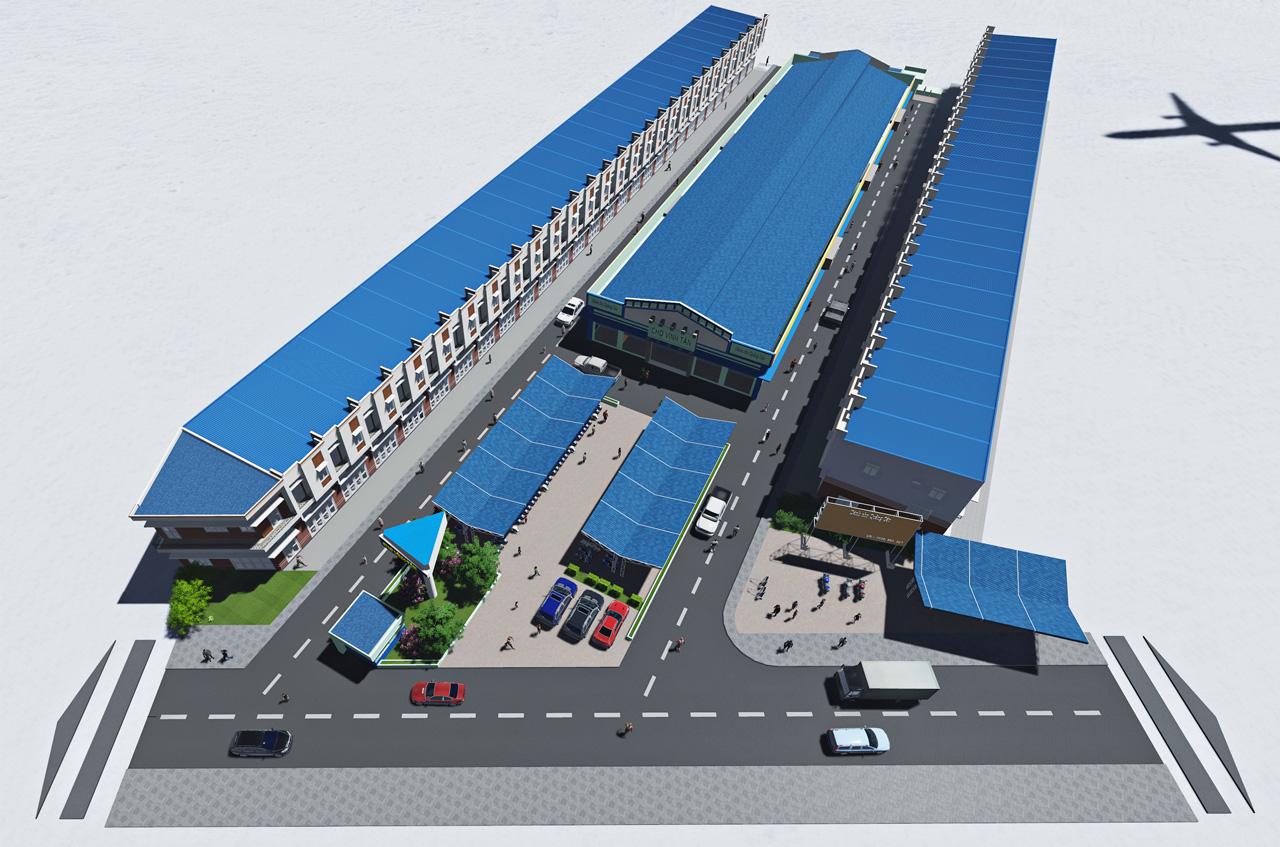 Công ty địa ốc hoàng khôi – Điểm dừng chân lý tưởng cho mọi người khi có nhu cầu mua sạp kinh doanh trong khu chợ Vĩnh Tân