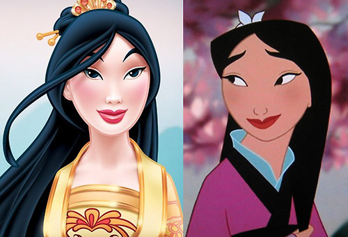Why The Disney Princess Redesign Of Mulan Is Problematic