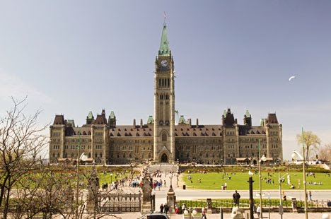 Canada Government, Canada, Ontario, Ottawa, Parliament Hill, Spring 2004, May