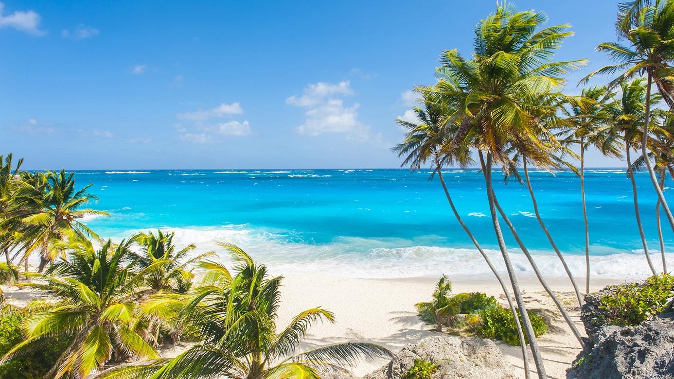 Celebrity destination Barbados