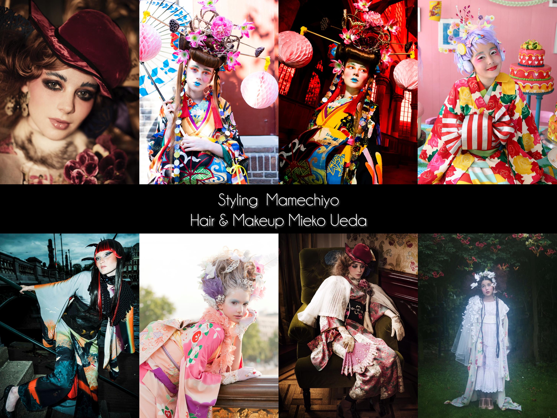 The guests of Anime North2019_mamechiyo modern and Mieko Ueda