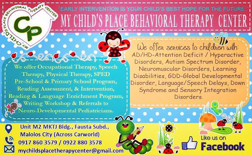 My Child's Place Behavioral Therapy Center - Occupational & Speech