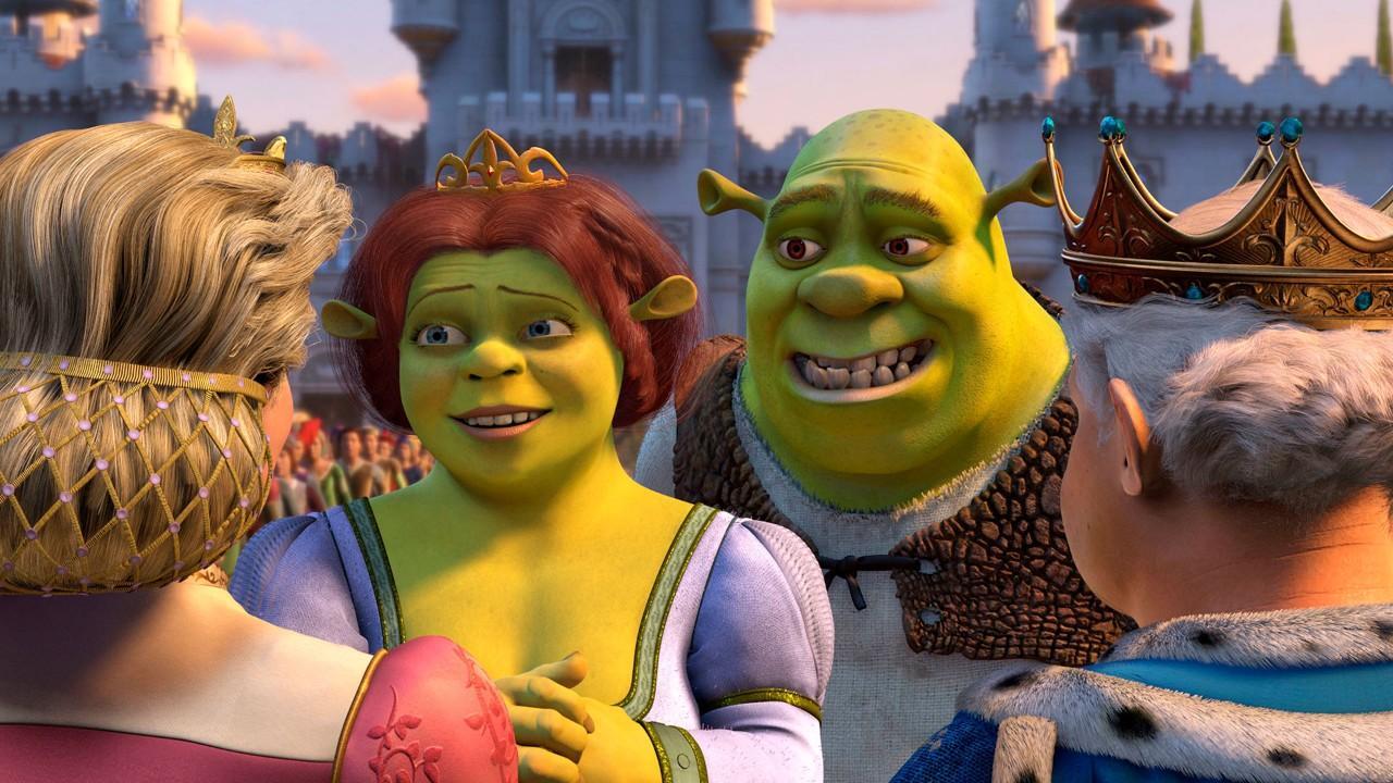 Princess and Shrek return to the kingdom