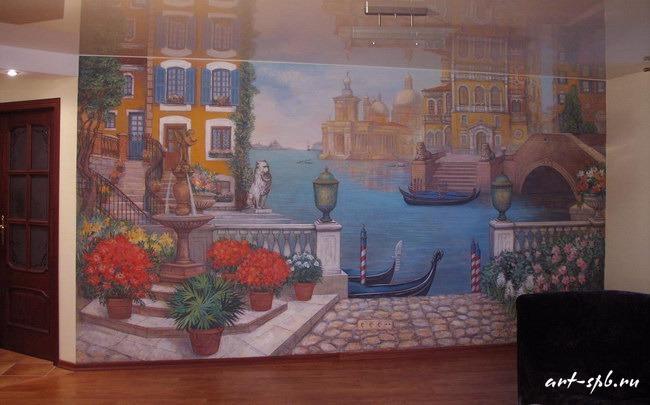 Монументальная живопись в квартире