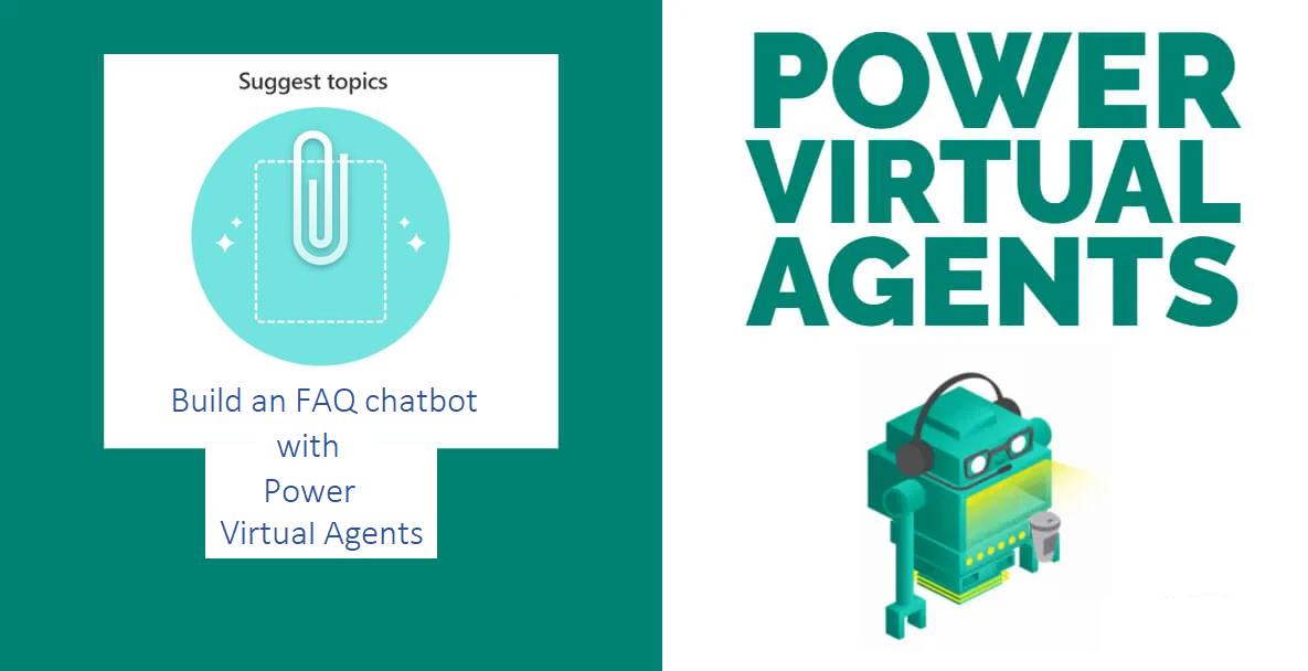 Building a FAQ bot using Power Virtual Agents