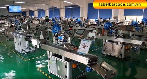 xưởng bán máy dán nhãn tại ha noi