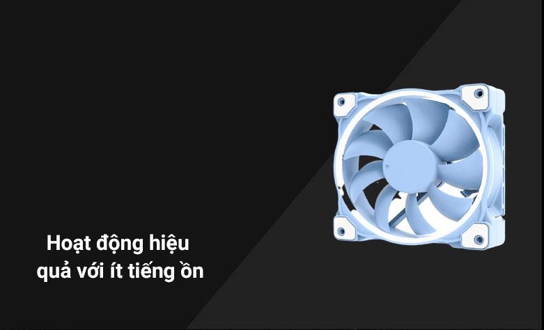 Quạt case ID-COOLING ZF-12025 (Xanh)| Hoạt động hiệu quả với ít tiếng ồn