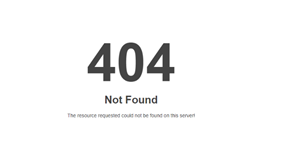 Voorbeeld 404-pagina