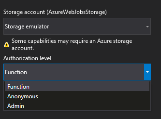 Create your first Azure Function - Visual Studio Tutorials