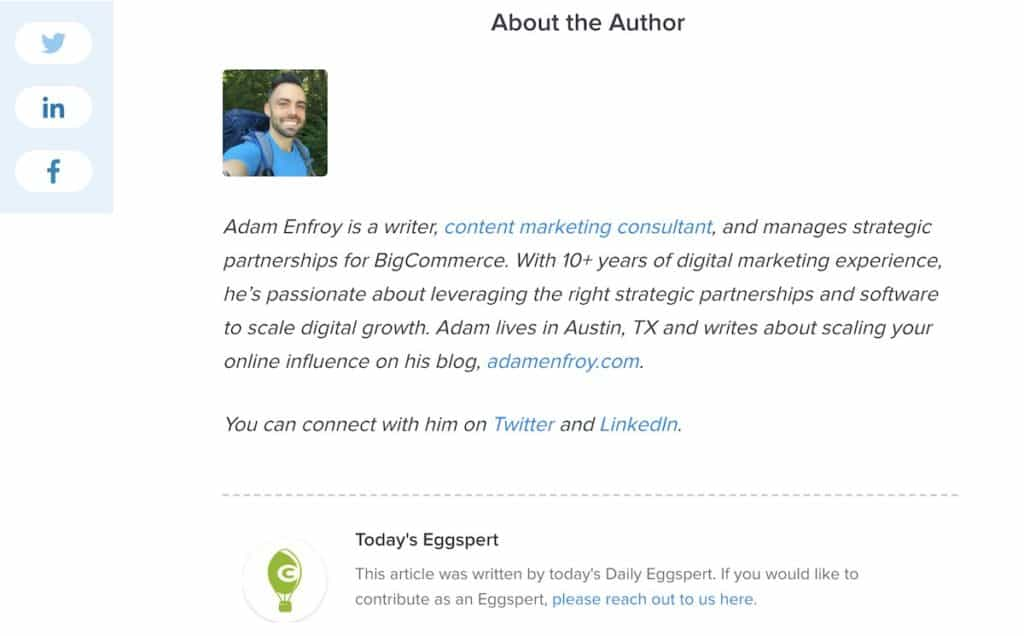 links in footer or non main content is now a contextutal link