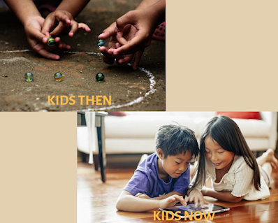 kids then vs kids now