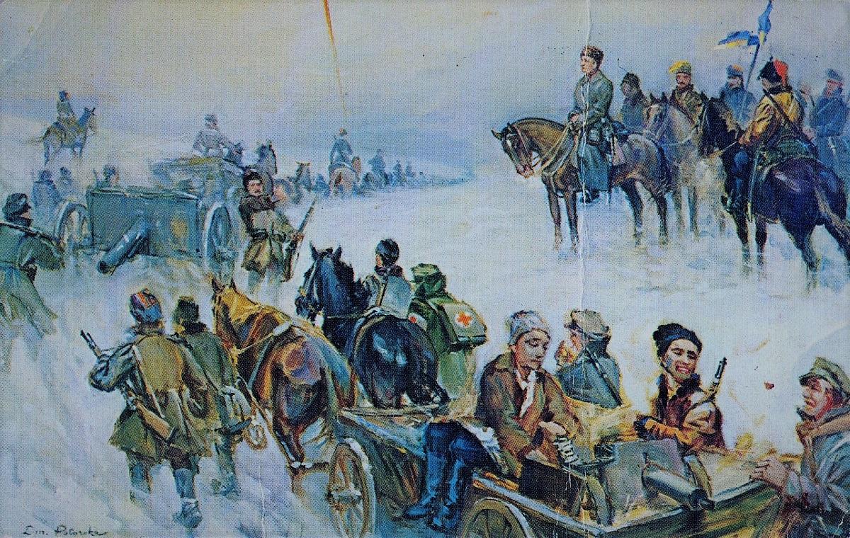 Дієва Армія УНР у Першому Зимовому поході. 1919–1920 роки