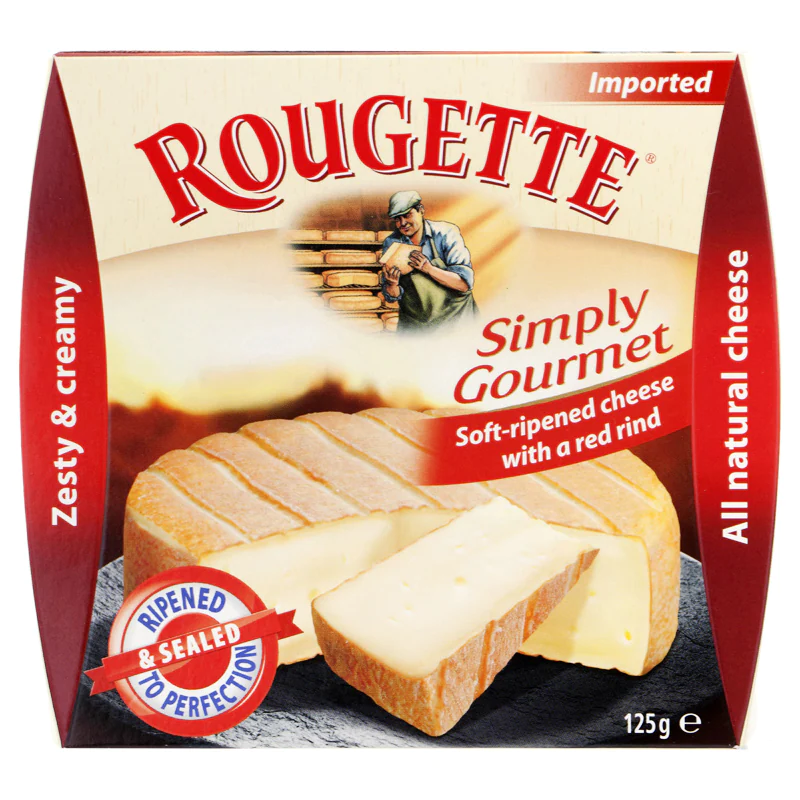 7. Kaserei Champignon Rougette Zesty and Creamy Cheese 125g. ราคา 149 บาท