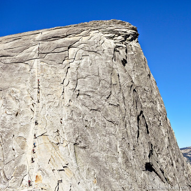 Half Dome Yosemite National Park (15 Best Hikes in the US).
