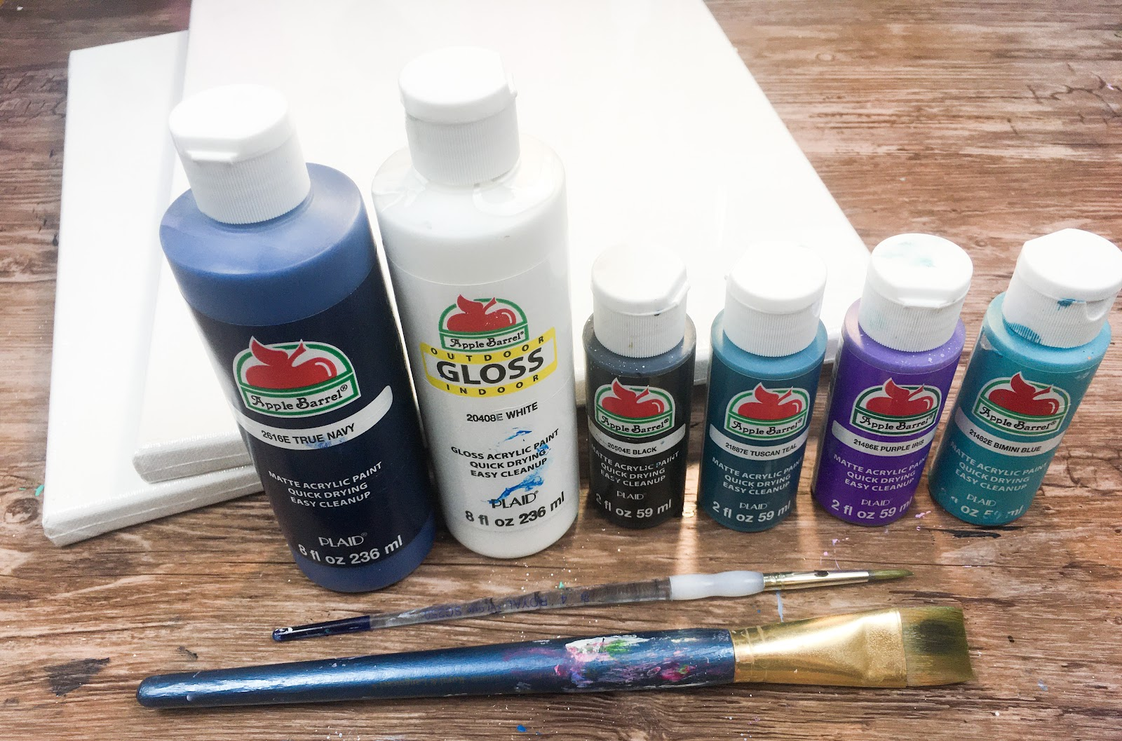 paint supplies for couples paint night at home date