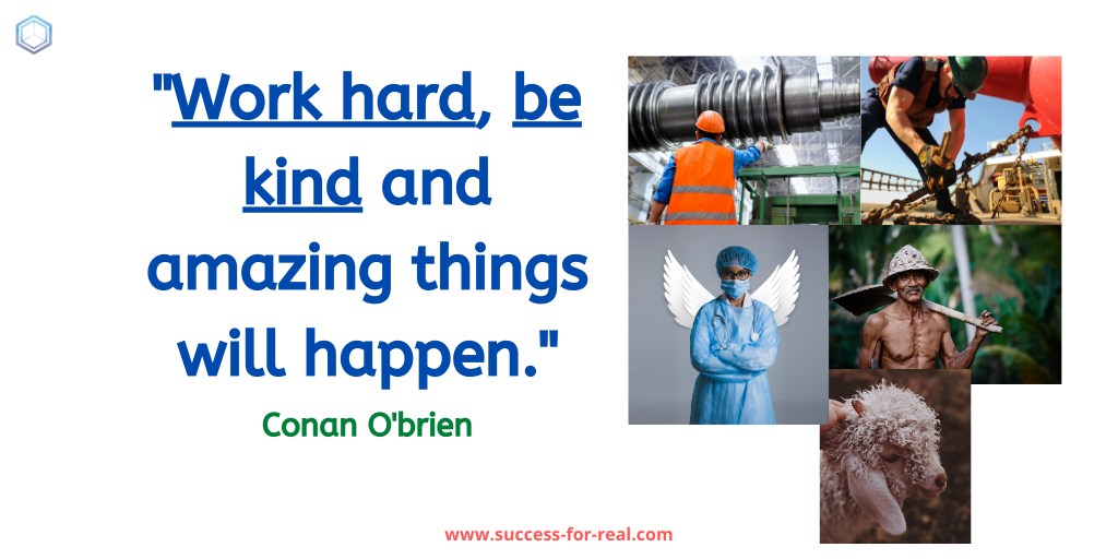 365 Success Quotes For Motivation - Picture Quote By Conan O'brien