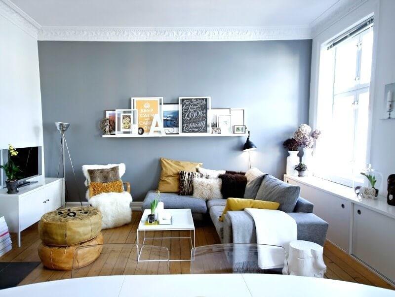 7 lựa chọn màu sơn phù hợp với phòng khách nhỏ