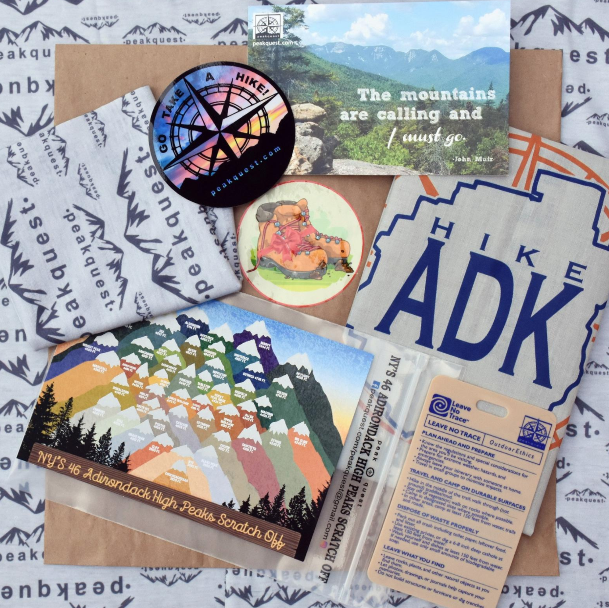 gifts for hikers bundle gift set