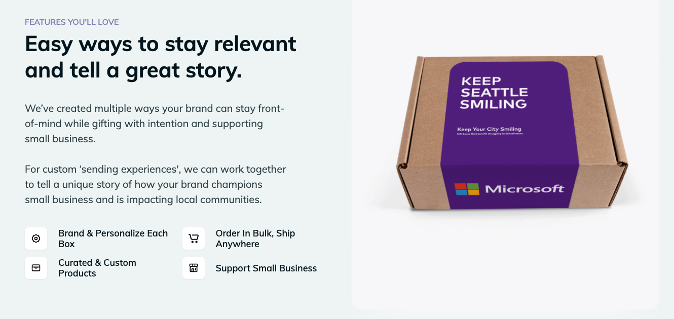 keep the city smiling box