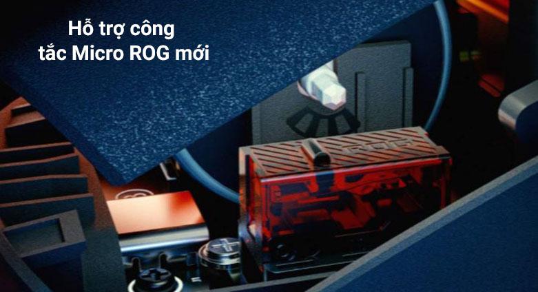 Chuột gaming không dây Asus ROG Keris Wireless (P513) (Đen) | Hỗ trợ công tắc mới