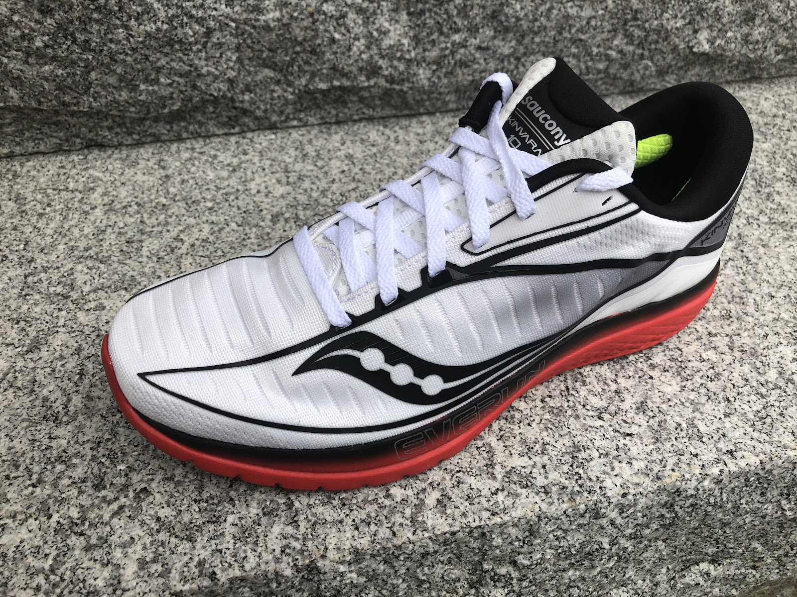 89853567783dd The KInvara 9 toned down the increasingly race fit type upper somewhat and  included a softer stretchier forefoot upper and got closer to the originals