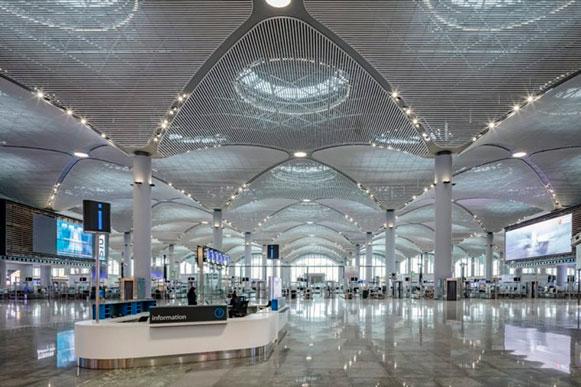 بزرگترین فرودگاه ترکیه