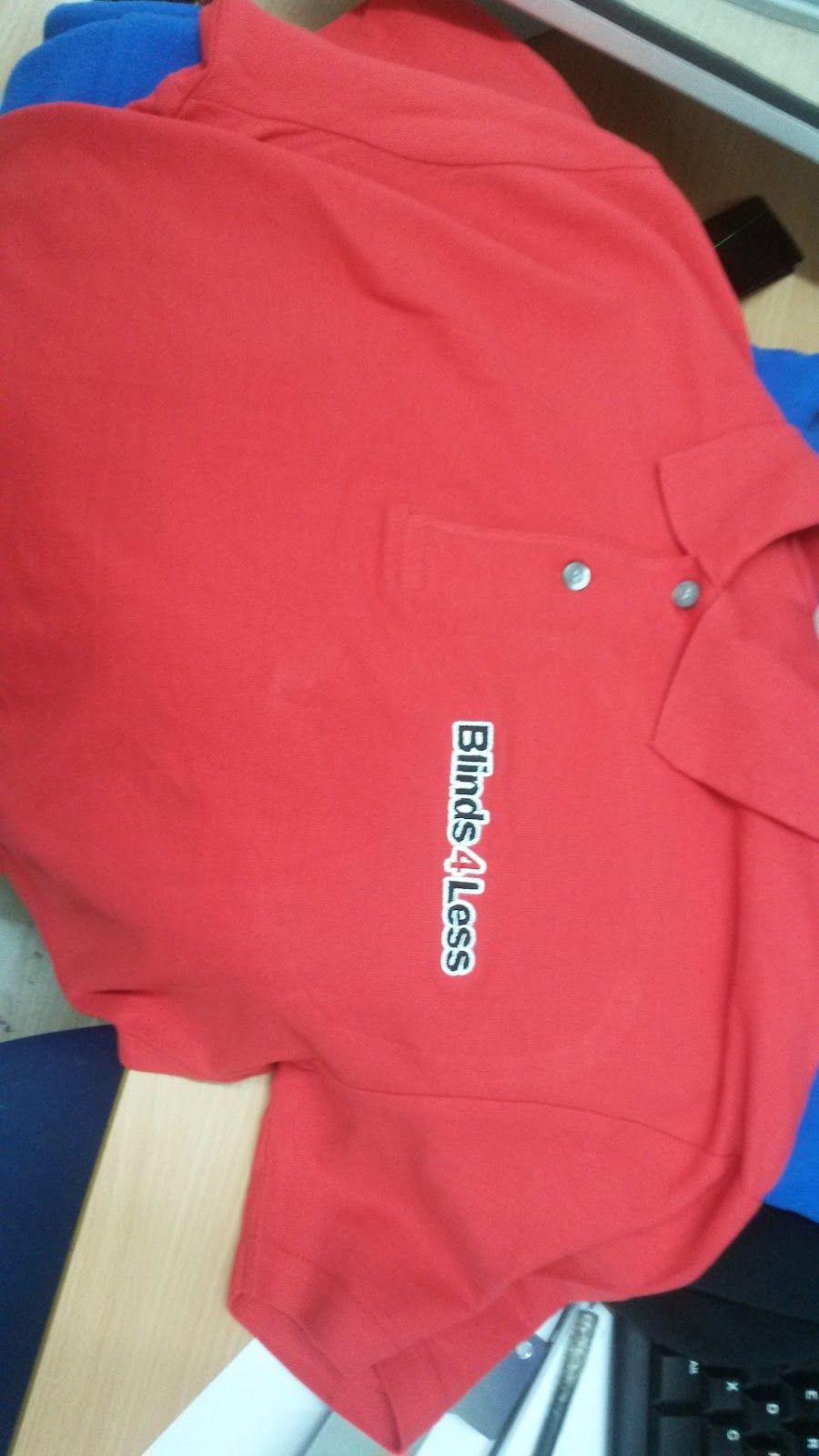 polo shirt embroidery by East London Printers