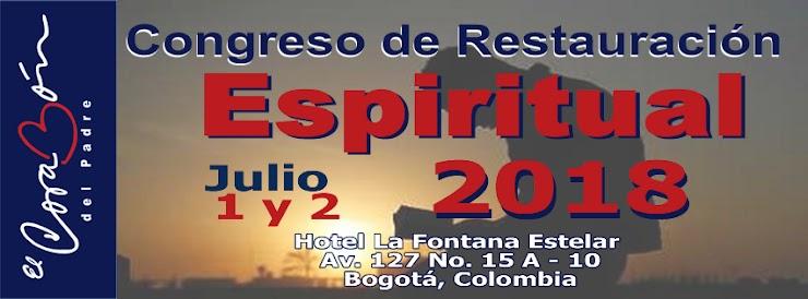 Congreso de Restauración Espiritual Julio 1 y 2