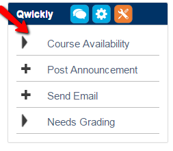 Qwickly Course Availability