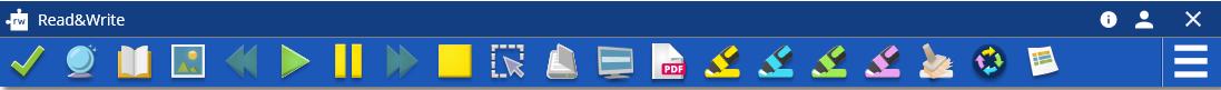 Premium toolbar