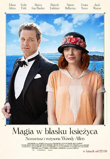 Polski plakat filmu 'Magia W Blasku Księżyca'