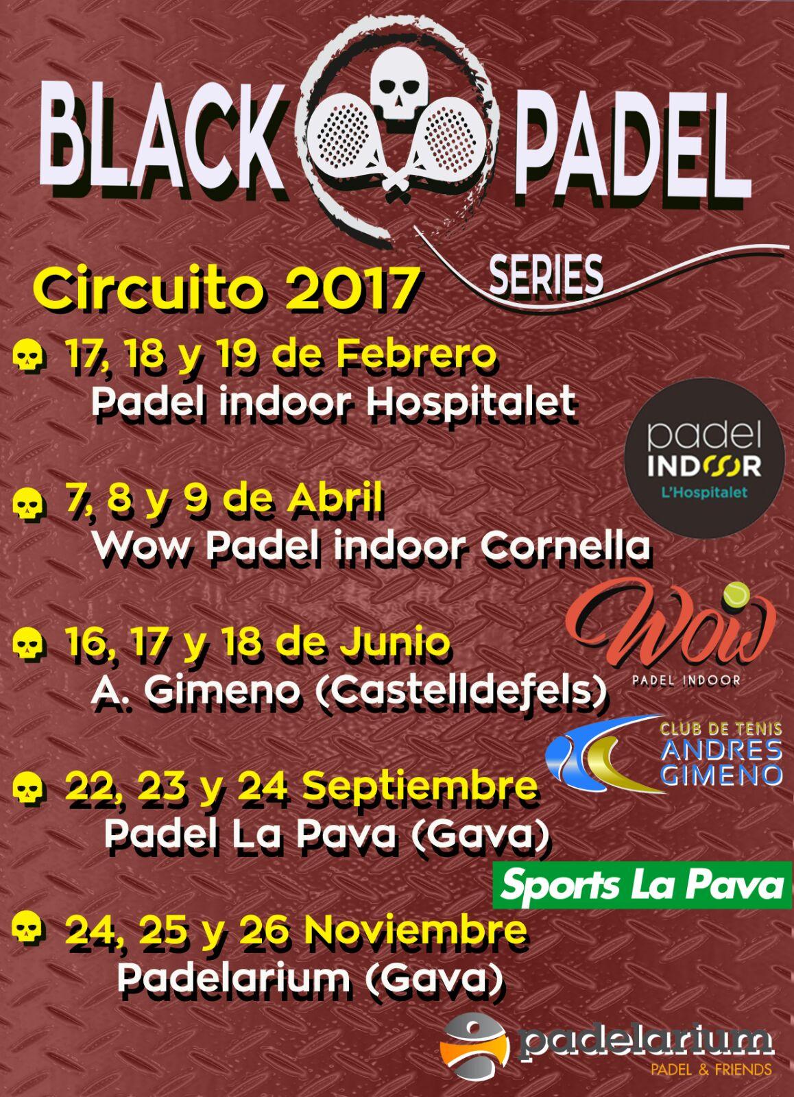 FIDELIA BLACK PADEL SERIES